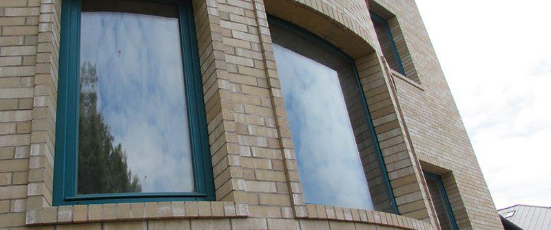 Радиусные окна в дом